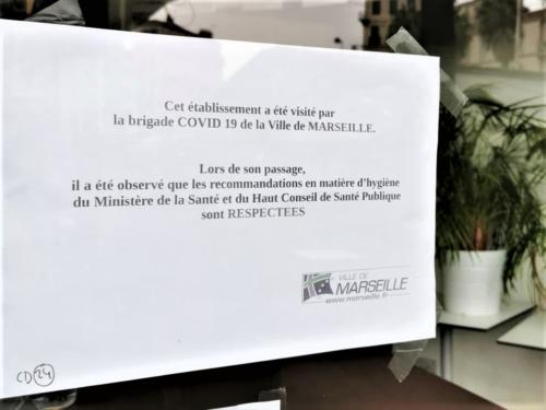 """, Des """"brigades Covid"""" pour faire respecter les mesures sanitaires dans les commerces et restaurants, Made in Marseille"""