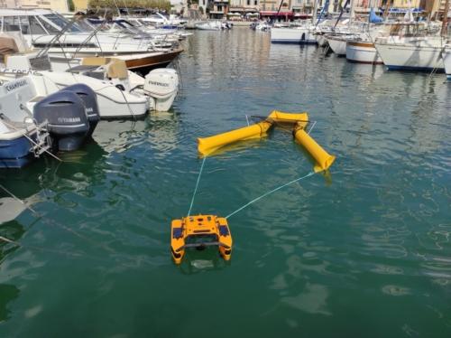 , Le robot Jellyfishbot s'équipe d'un nouveau système pour capter plus de déchets, Made in Marseille