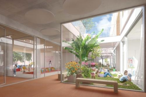 , Entre tradition et modernité, la future école « durable » de la Capelette attendue pour 2023, Made in Marseille