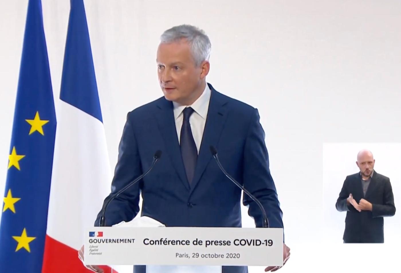 , Bruno le Maire annonce 15 milliards d'euros par mois d'aides aux entreprises, Made in Marseille