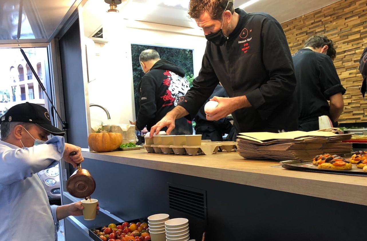 , Michel, le food truck gastronomique d'Alexandre Mazzia, a trouvé enfin sa place à Marseille, Made in Marseille