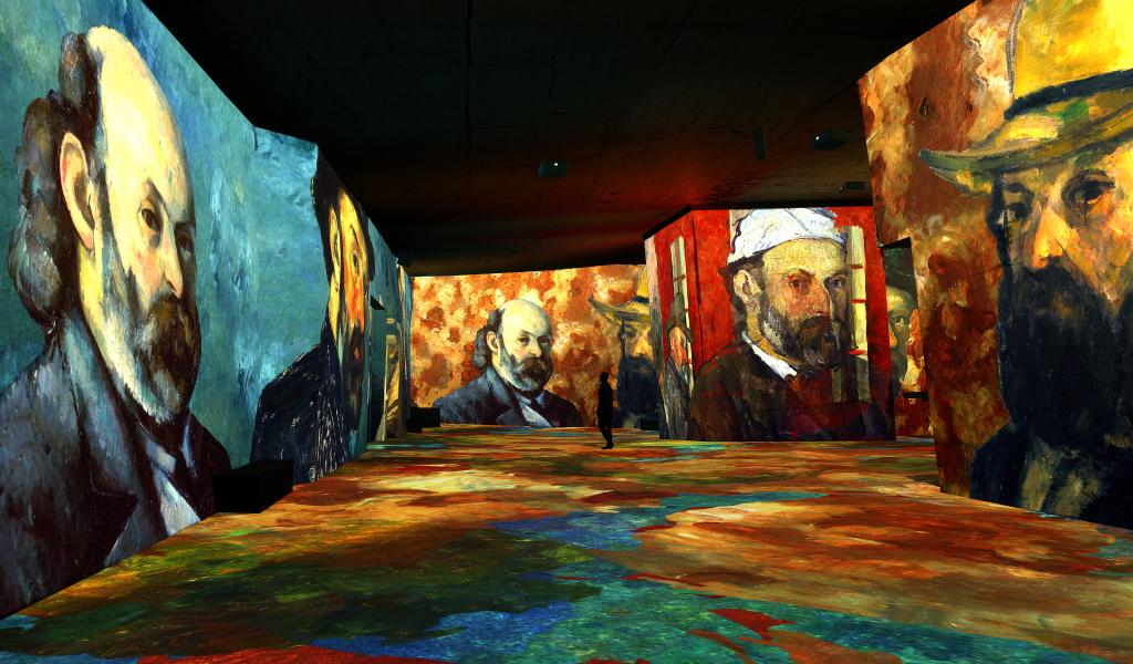 , Cézanne et Kandinsky s'exposent aux Carrières de Lumières jusqu'en 2022, Made in Marseille