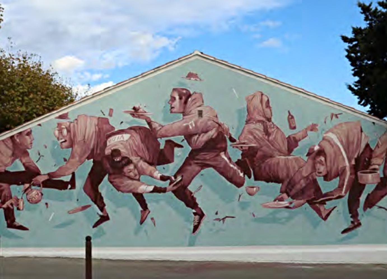 , Port-de-Bouc : Des street-artists internationaux vont décorer 10 façades de la ville, Made in Marseille