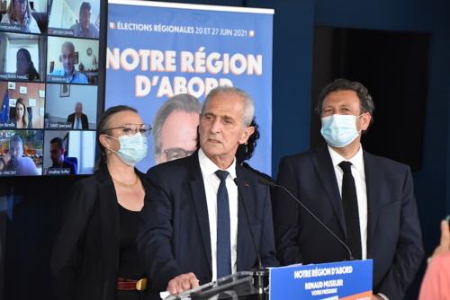 """, Régionales : Renaud Muselier présente une liste """"d'ouverture"""" et """"territoriale"""", Made in Marseille"""