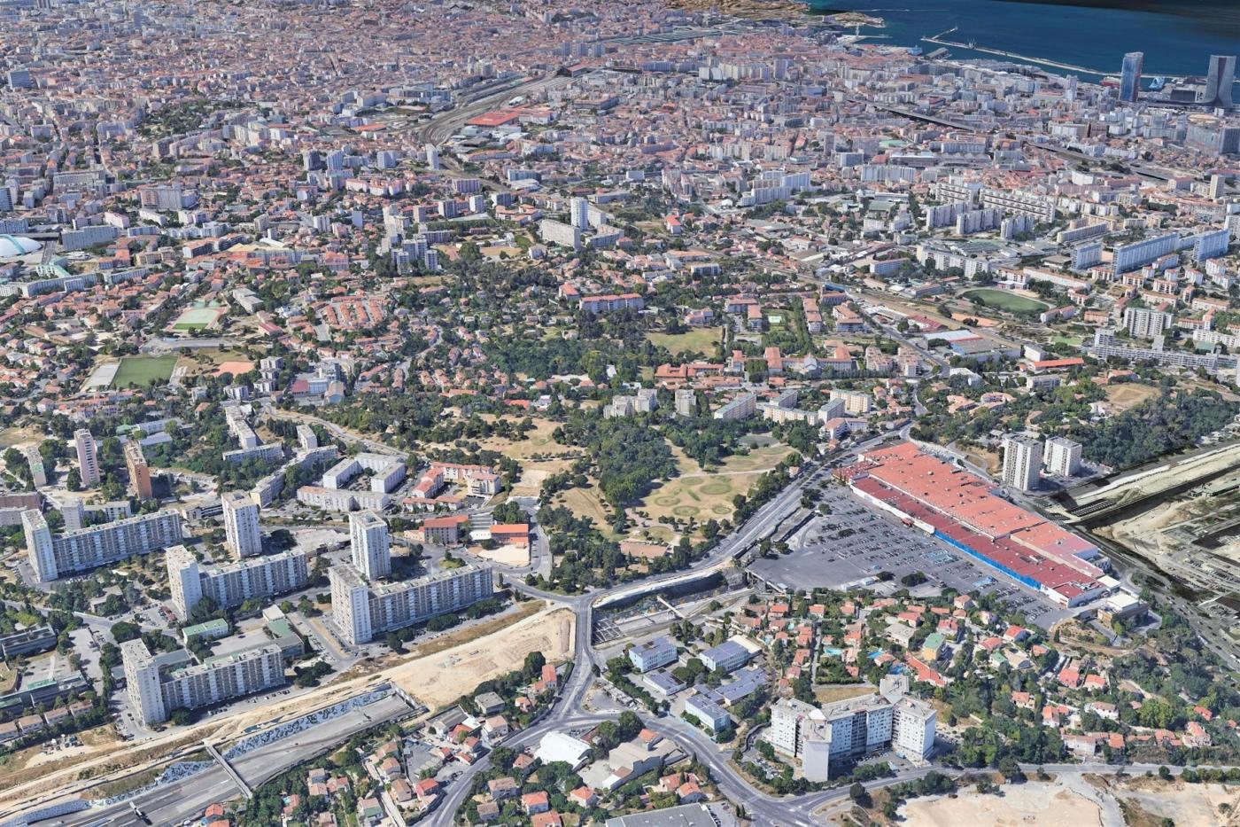 , Le parc de Font Obscure, poumon vert des quartiers Nord, fait peau neuve, Made in Marseille