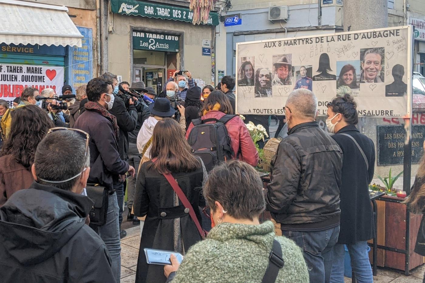 , À Noailles, la place du 5-Novembre 2018 en voie d'être reconnue officiellement, Made in Marseille