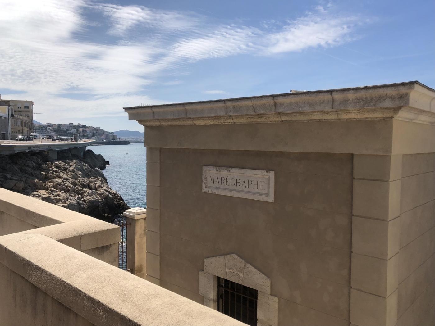 , Vidéo – Le marégraphe de Marseille surveille la montée des eaux, Made in Marseille