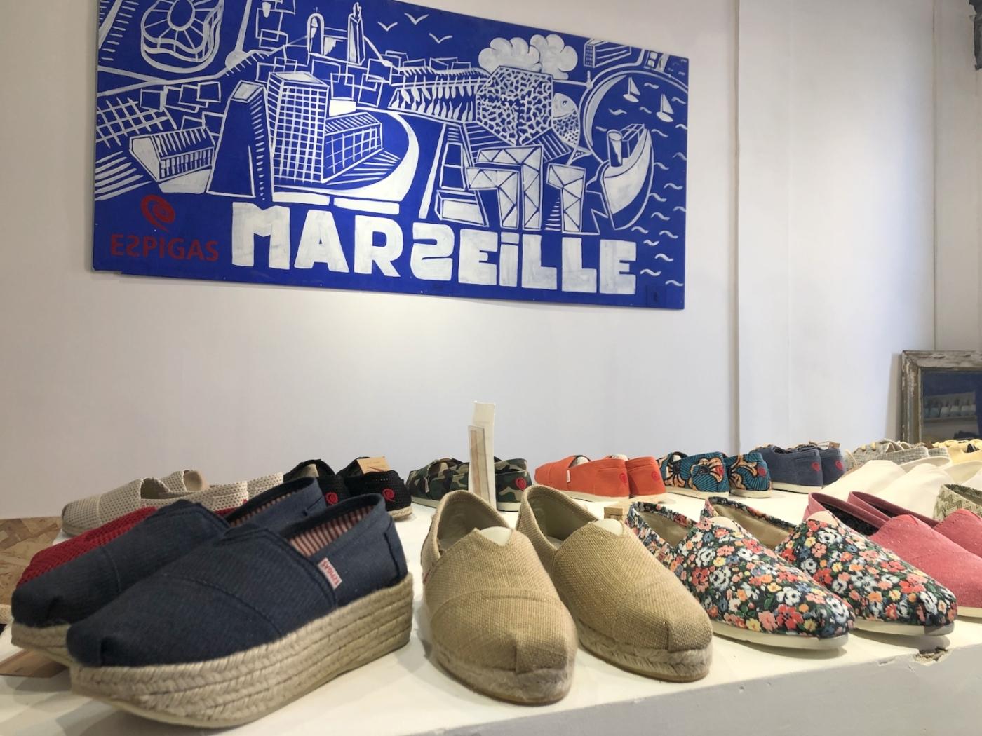 , Les espadrilles marseillaises Espigas intègrent leur nouvelle boutique au Vieux-Port, Made in Marseille