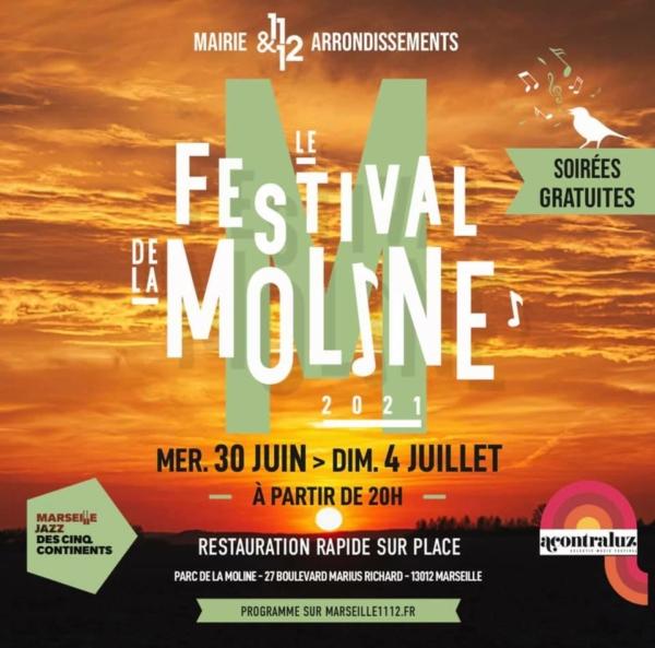 , Feder, Titoff, Zize… Entre musique et humour, découvrez la programmation du Festival de la Moline, Made in Marseille