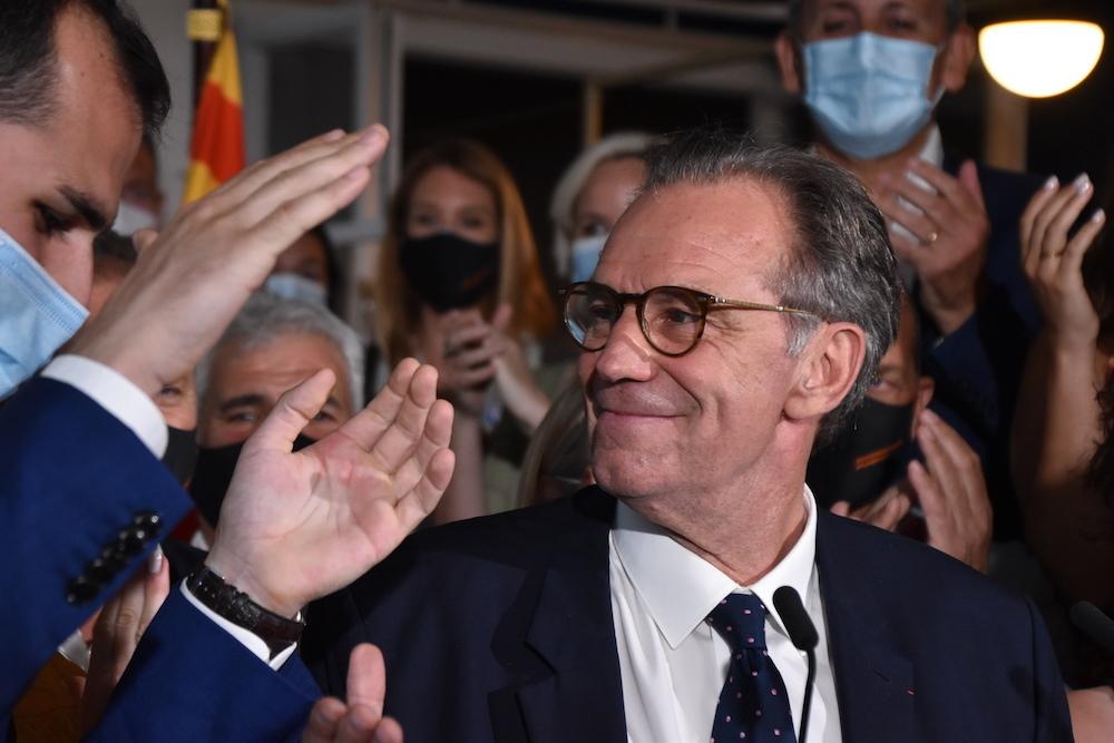 Renaud Muselier remporte les élections régionales en Paca avec 57,30 % des voix